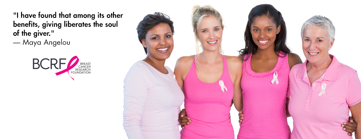 Support the BCRF – Because Research Saves Lives!